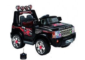 Land Rover style 12 volt Jeep (New)