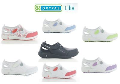 Oxypas LILIA Damen ESD Berufsschuhe für Pflege Krankenschwester Schuhe