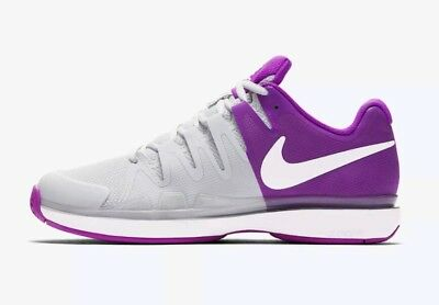 d00cbbf053c7 Nike Zoom Vapor 9.5 Tour Tennis Shoes 631475-003 Women s US 12 Purple NEW   140