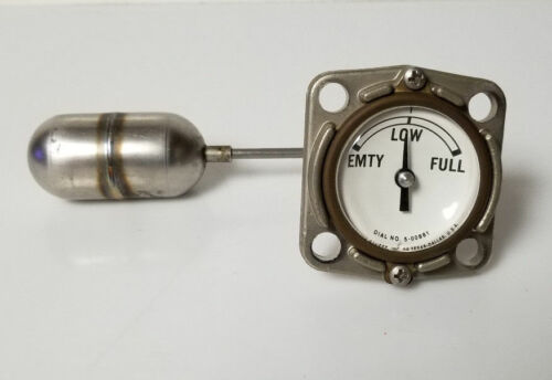 Rochester Fuel Liquid Gauge Dial No 5-00881