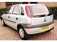 Long Mot Vauxhall Corsa 1.2 Cheap Insurance 5 Door 50 Mpg 2 Owners (Px corolla Ibiza fabia yaris)