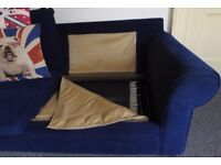 2 seater sofa and 3 seater sofa bed for sale