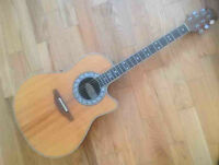OVATION ACOUSTIQUE ELECTRIQUE MADE IN USA