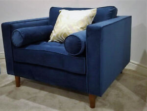 Modern Mid Century Big Living room Accent / Arm Chairs