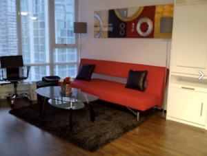 Fully furnished studio suite move-in-ready Oct 1 $1750