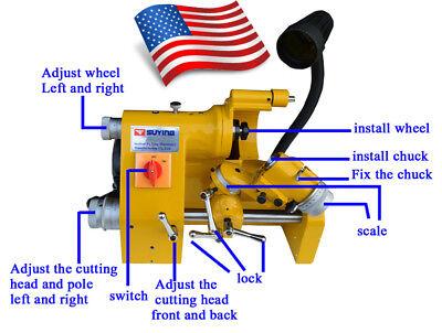 New 220v Ce U2 Universal Cutter Grinder Sharpener For End Mill Lathe Cutter Usa