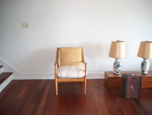 Mid-century modern occasional chair