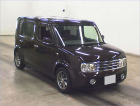 2007 (57) NISSAN CUBE CUBIC M 1.5 Automatic 7 Seater MPV