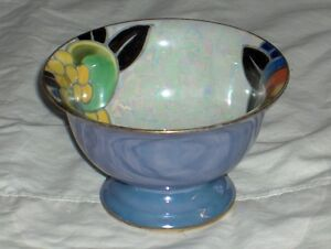 Noritake M Morimura handpainted made in Japan fluted bowl 1920's West Island Greater Montréal image 3
