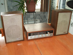 Rare Vintage Stereo with Speakers