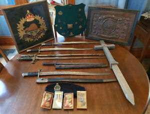 MILITARY ITEMS +++ - ESTATE AUCTION - SAINT JOHN - MONDAY NIGHT