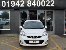 2015 65 NISSAN MICRA 1.2 ACENTA 5D 79 BHP ECO HATCH,.1 OWNER, 12-000M FSH. WHITE