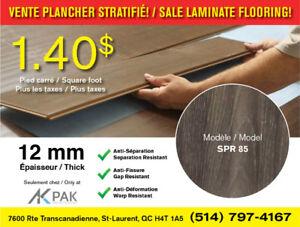 !!VENTE!! Plancher Stratifié 12 mm / Laminate Flooring - SPR 85