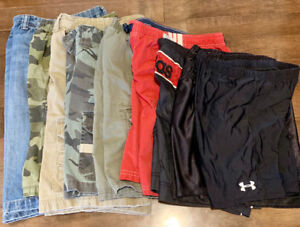 11 Pairs of Boys Shorts, Sizes 8-10 - Excellent Condition!