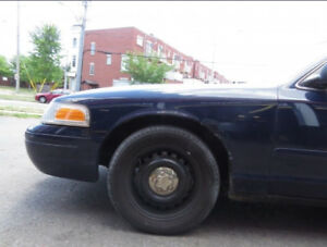 P71 Crown Victoria Police Center Caps