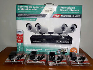 Speedex 4 Channel Proffesional Security System