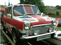 UNION JACK MINI COOPER EXCELLENT DISPLAY CAR