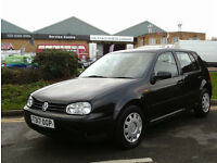 Volkswagen Golf 1.6 auto SE AUTOMATIC LOW MILEAGE ONLY 1 OWNER