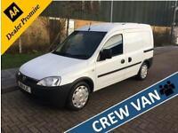 2011 Vauxhall Combo 1.3 CDTI 2000 5 seat factory crew van Manual Crew Van