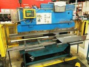 20 Ton x 6' Allsteel, Hydraulic Press Brake