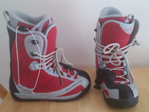 Salomon Perpetual Snowboard Boots Bought For $299 Used Twice