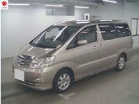 2006 (56) TOYOTA ALPHARD MX L 4WD 4x4 3.0 V6 Automatic Elgrand Grade 4/B