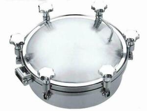 Stainless Pressure Circular Manhole 200mm(020059)