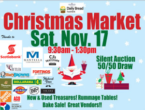 Westway Food Bank Christmas Market & Rummage Sale Sat. Nov. 17