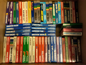 ¤¤¤UPDATED: INTELLIVISION GAMES, MOST CIB WITH OVERLAYS¤¤¤