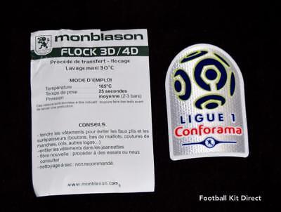 Official French ligue/League 1 Football Shirt Badge/Patch 2017/18 Conforama