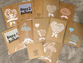 handmade birthday ,greeting cards , new baby cards