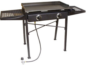 CAMP STOVE AND GRIDDLE