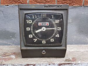 1970s industrial punch clock