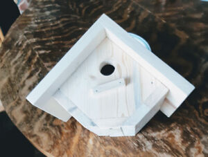 Bird houses. Wrens or finches