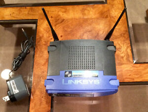 Linksys Wireless-G 2.4GHZ Broadband Router - Model WRT54G