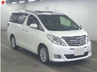 2008 TOYOTA ALPHARD L Package 3.5 V6 4WD 4x4 Cruise Control Twin Sunroof Grade 4