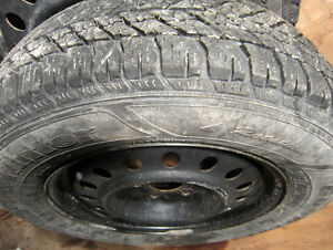 225/65/R17 *WINTER Tires*GOODYEAR-ULTRAGRAP*RIMS*PRESSURE VALVES