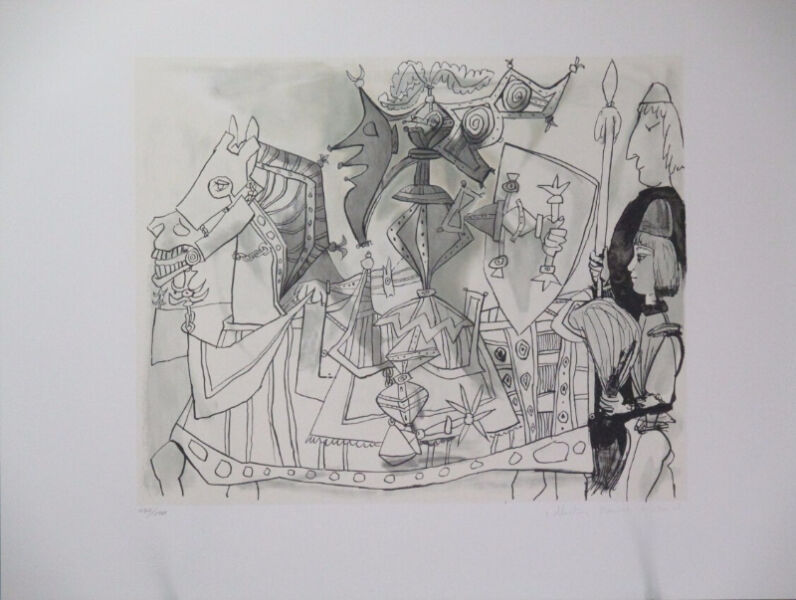 Jeux de Pages Limited Edition Lithograph by Pablo Picasso!