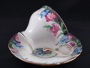 Vintage 1960's Paragon 'Sweet Pea' Porcelain Corset Teacup Set