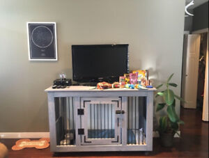 Dog Crate/ TV Stand