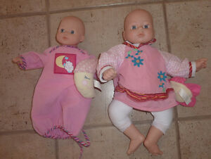 2 smaller dolls $ 3 each or $ 5 both