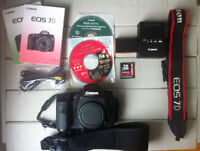 Canon 7D+ accessories