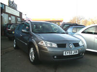 2005 55 Renault Megane 1.6 16V Privilege Tourer / Estate