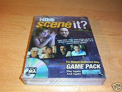 HBO SCENE IT DVD GAME PACK ADULT COMPLETE SEALED NEW](Hbo Adult)