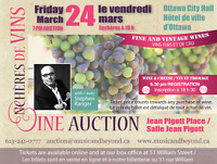 Ottawa Wine Auction - Presented by Music and Beyond