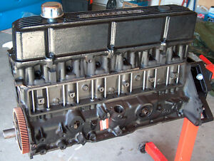 Rebuilt Ford 300 I-6 Long Block(Carb type)