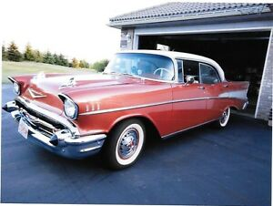 Classic 1957 BEL AIR Sport Sedan 4 Dr Hardtop