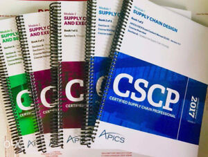 APICS CSCP Books & Learning System for Sale at GREAT price
