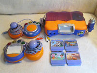 Vtech VSmile game system + 4 games (french) *price drop*