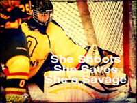 Female Hockey Goalie Coach - Private Sessions